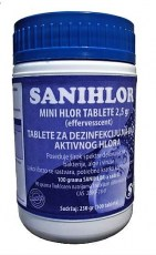 SANIHLOR- tablete 2,5 gr6